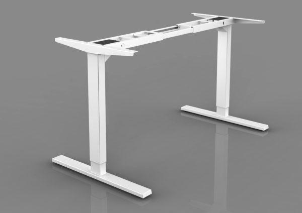 BeActive állítható asztal fehér