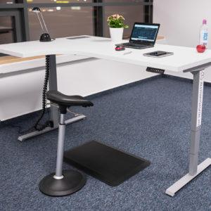 BeActive L-Shape elektromos asztal